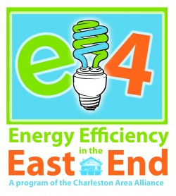 E4 energy efficiency in the east end logo charleston wv