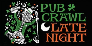 Pub Crawl Late Night 2014 Logo